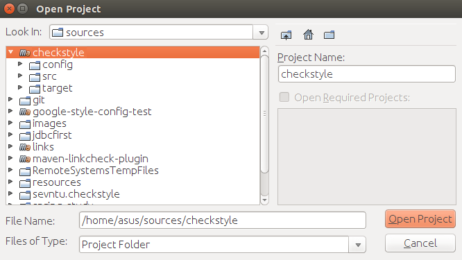 checkstyle – Importing and debugging in NetBeans IDE